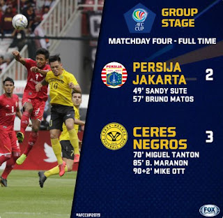 Persija vs Ceres 2-3 Highlights Piala AFC