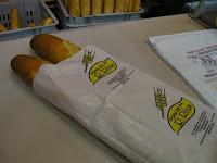 bolsas de papel para pan, baguettes, personalizadas