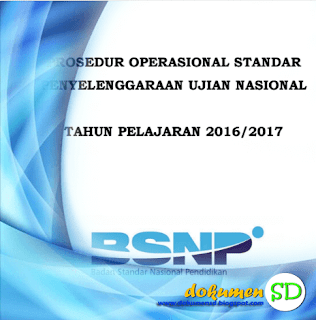 Download POS UN SD Tahun 2017 Format PDF Gratis