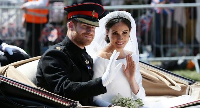 Los duques de Sussex celebran un año de casados