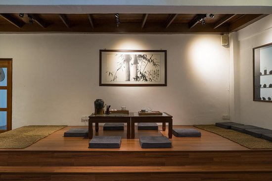 Tea Ceremony in China | Rujani Tea on house inside a china, homes in china, small apartment designs in china,
