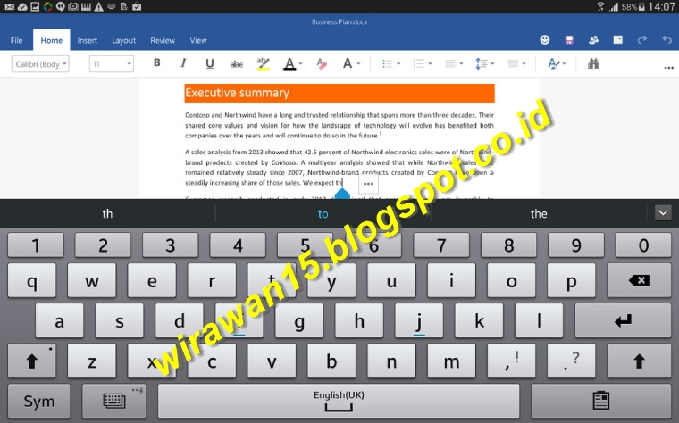 Free Download Microsoft Office Mobile (Word, Excel