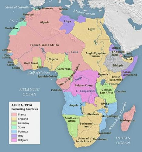 The scramble for africa in the