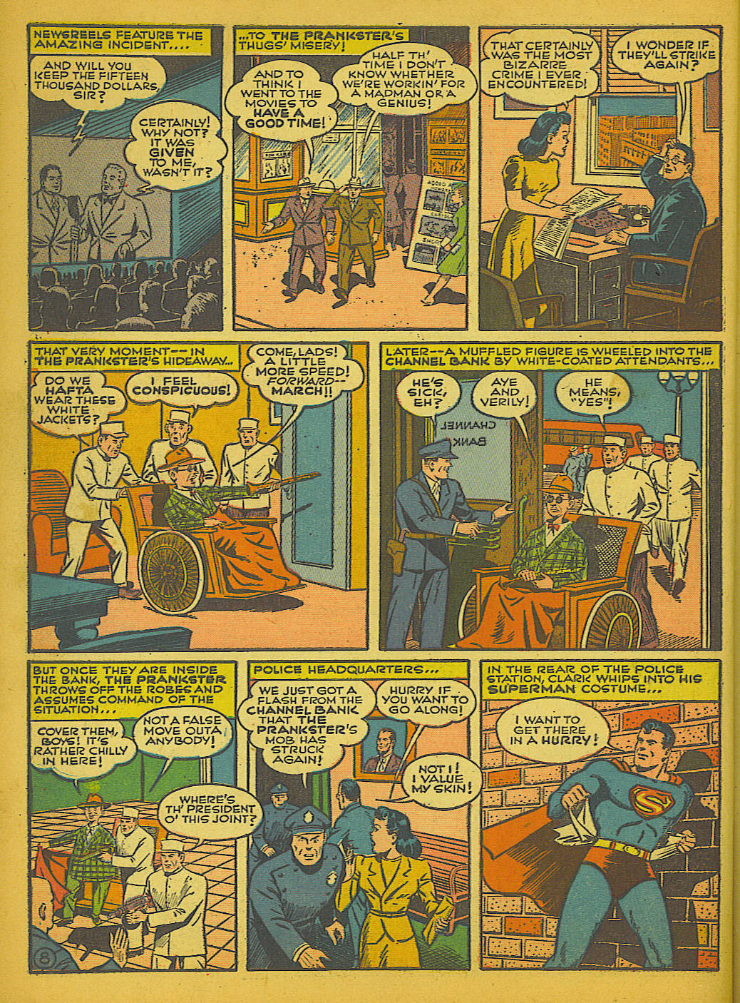 Read online Action Comics (1938) comic -  Issue #51 - 11