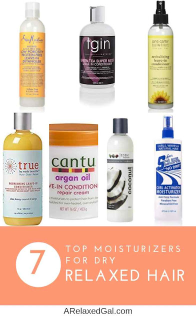 Top Leave-in Conditioners And Moisturizers For Relaxed Hair | A Relaxed Gal