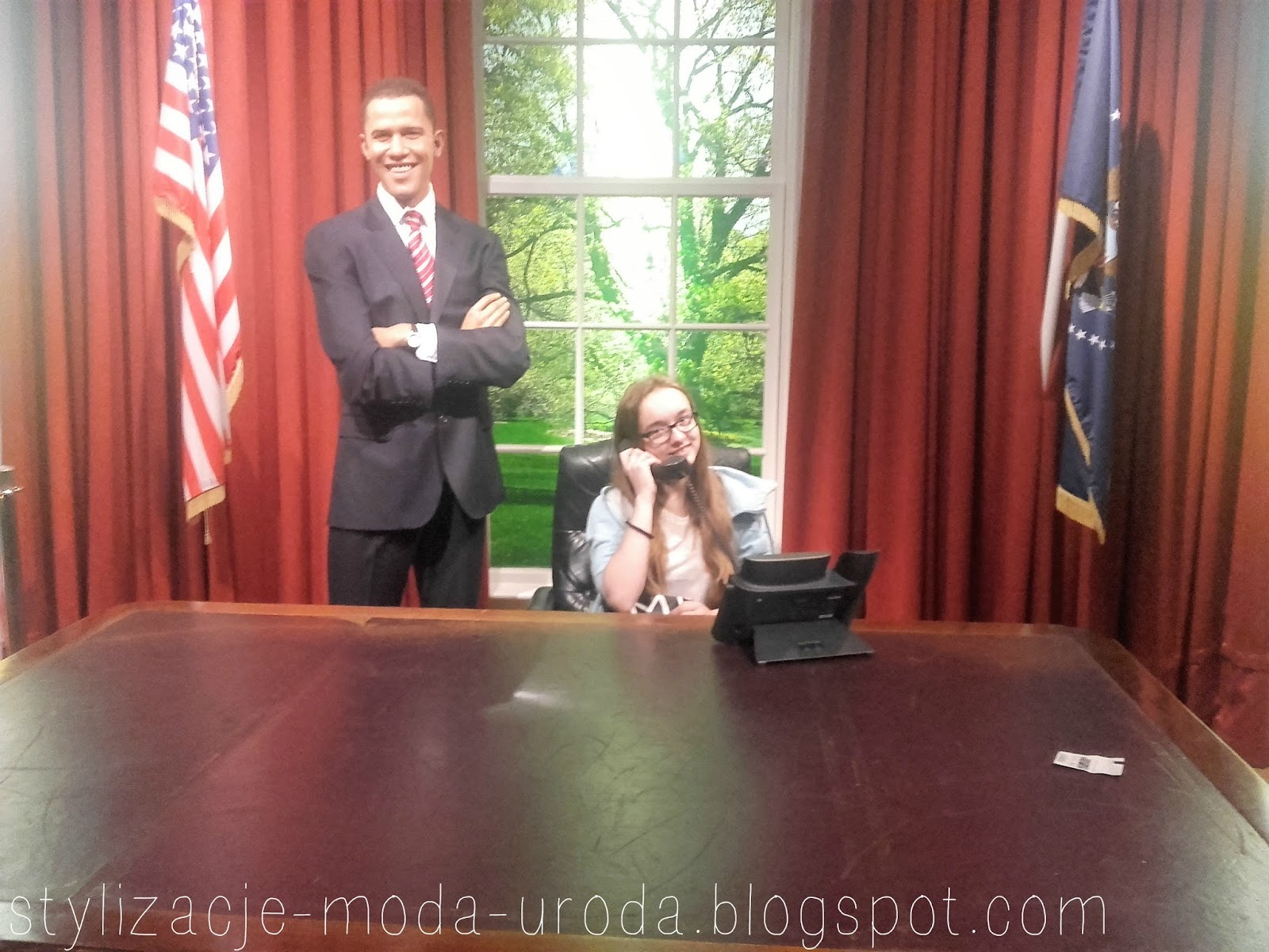 Madame Tussaud's Barack Obama