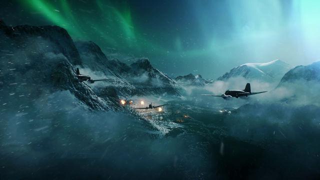 Battlefield V Attaque d'Avions - Fond d'écran en Ultra HD 4K