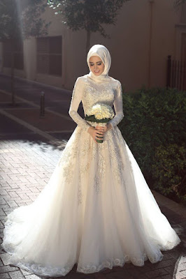wedding hijab wrap wedding hijab wrapping styles rok lebar bridal keren dan seksi