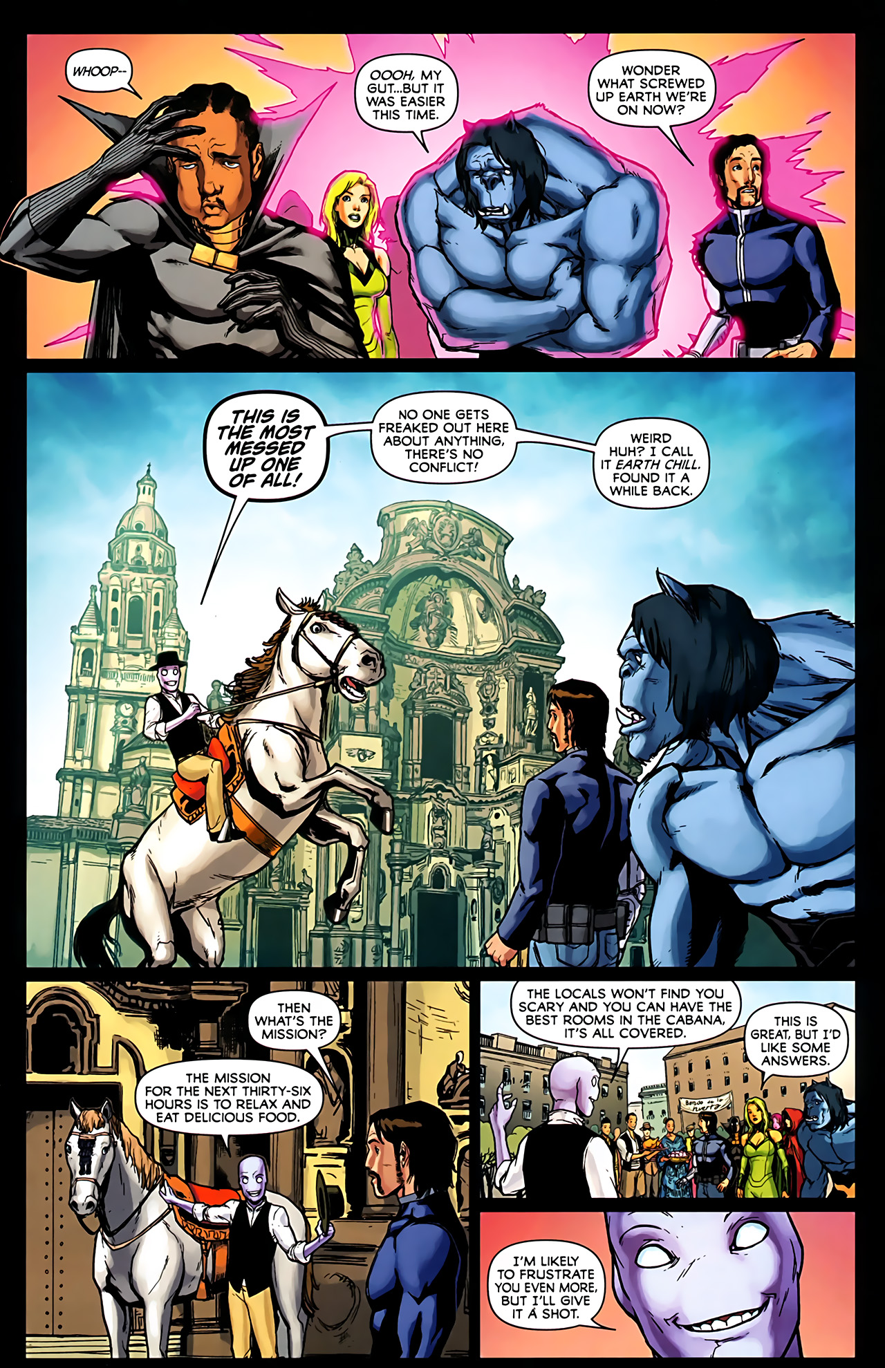 Read online Exiles (2009) comic -  Issue #6 - 13