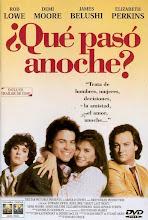 ¿Qué pasó anoche? (1986)