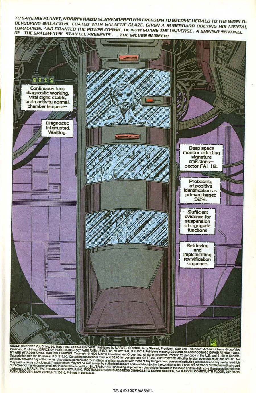 Read online Silver Surfer (1987) comic -  Issue #80 - 3