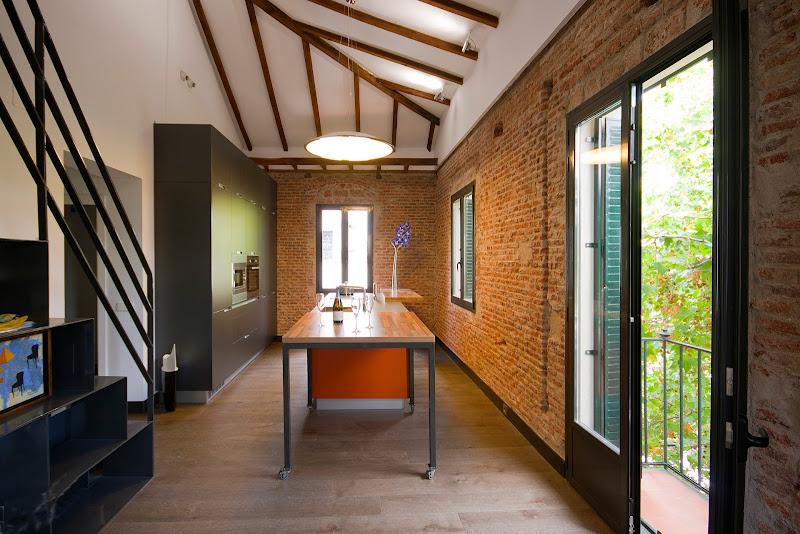 Cocina inspirada en un loft neoyorquino - Santos Brezo