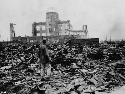 The aftermath in Hiroshima after US atomic bombing, From ImagesAttr