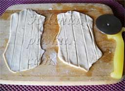 пирожное наполеон из слоеного бездрожжевого теста