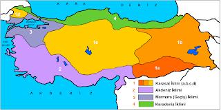 Türkiye'de Karasal İklim
