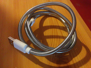 The Coiled Titan Charge Cable