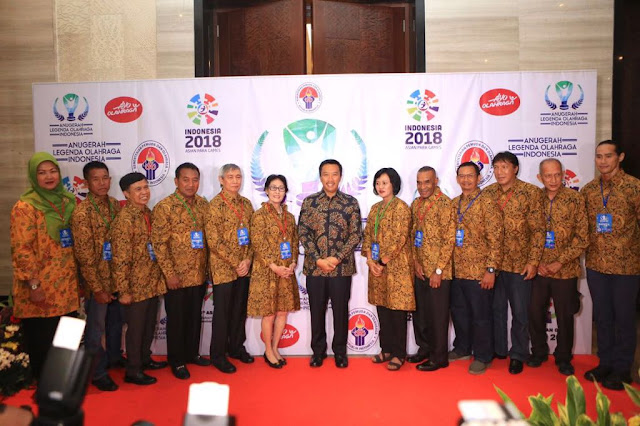 Pemerintah Beri Penghargaan Kepada 286 Legenda Olahraga Indonesia