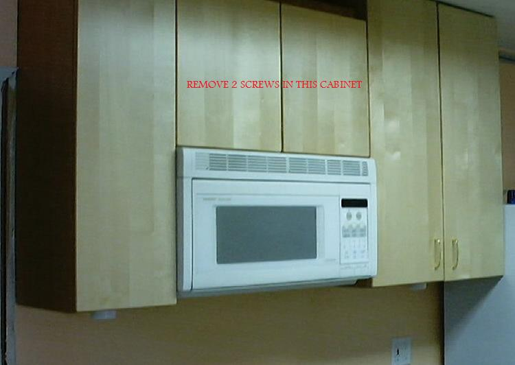 Under Counter Microwave For Easier Works: Handy Work Made Easy: Replacing Above Stove Microwave