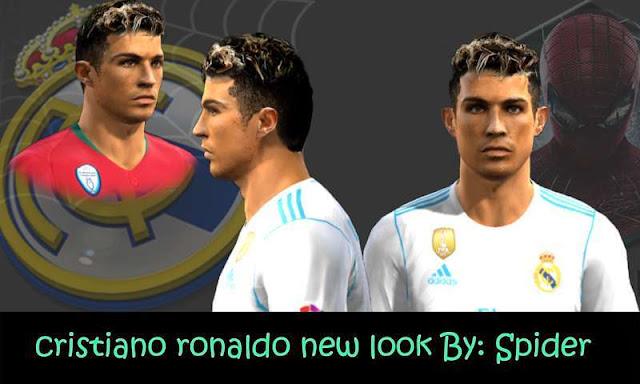 Cristiano Ronaldo Face PES 2013