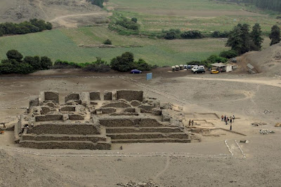 5,000 year-old temple found in Peru