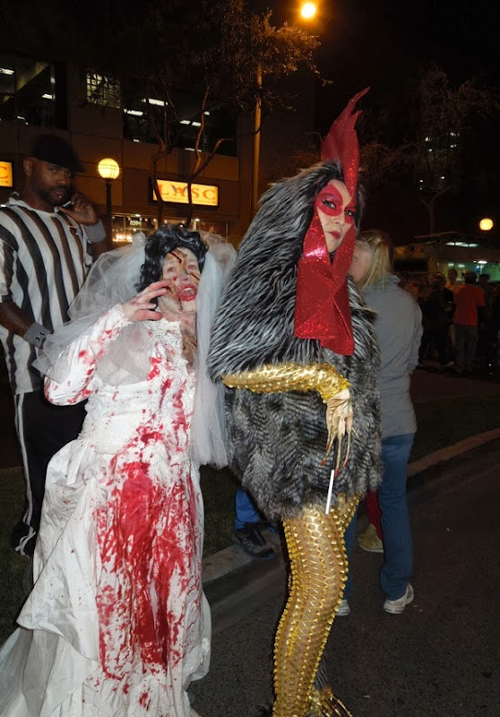 West Hollywood Halloween Carnaval costumes