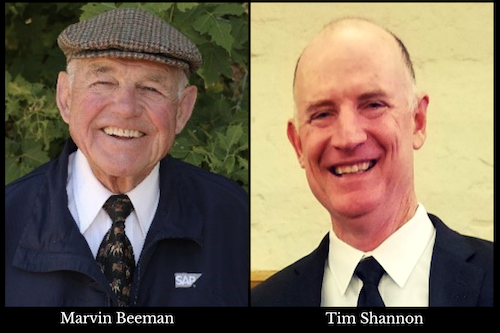 Marvin Beeman and Tim Shannon