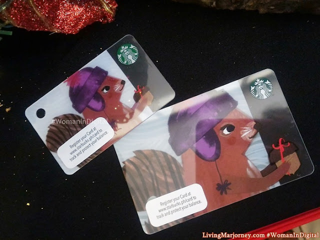 Holiday Starbucks Card