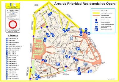 Resumen de las Areas de Prioridad Residencial de Opera