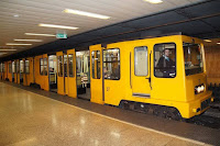 metro linea amarilla budapest