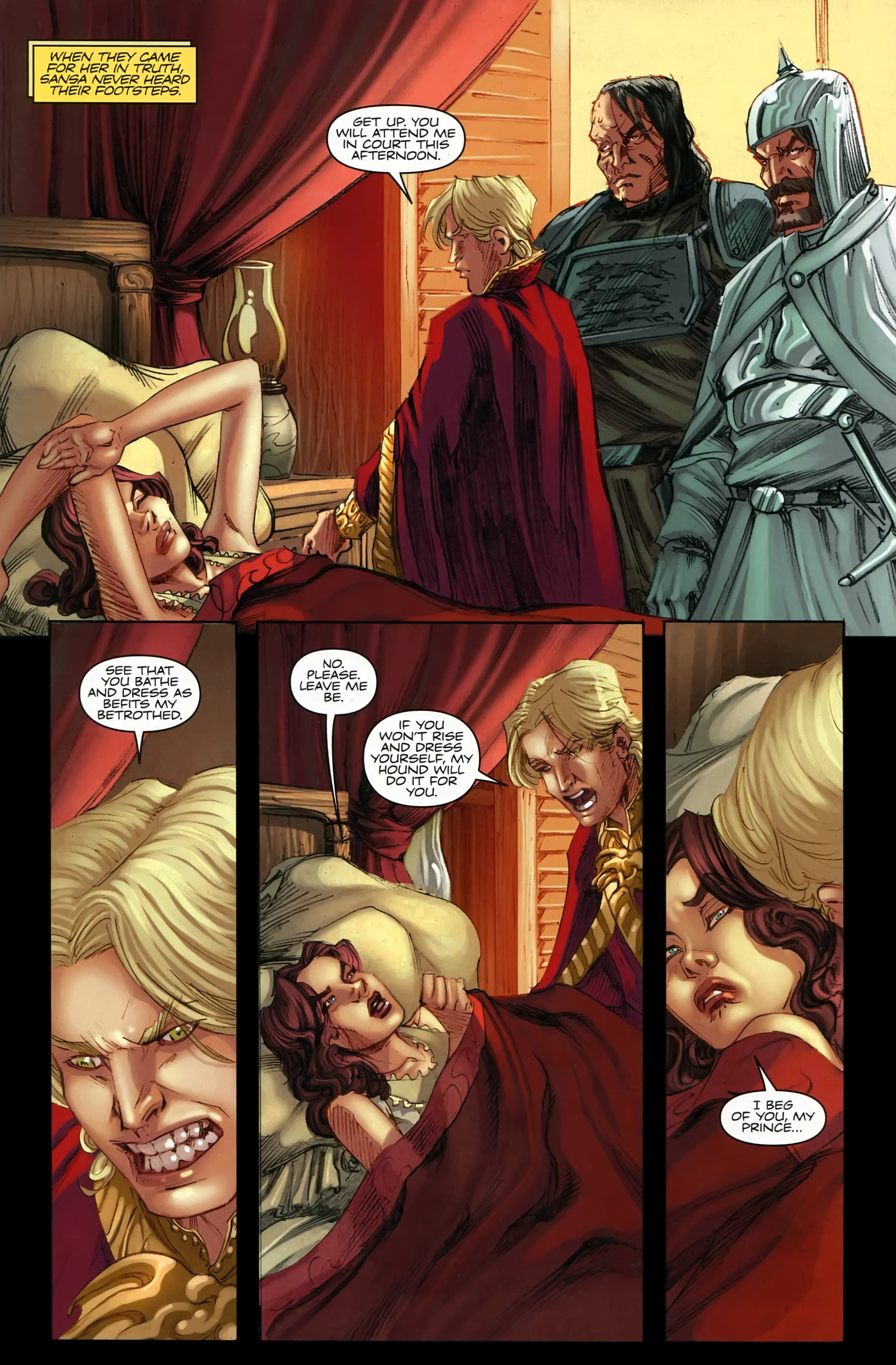 Read online A Game Of Thrones comic -  Issue #22 - 5