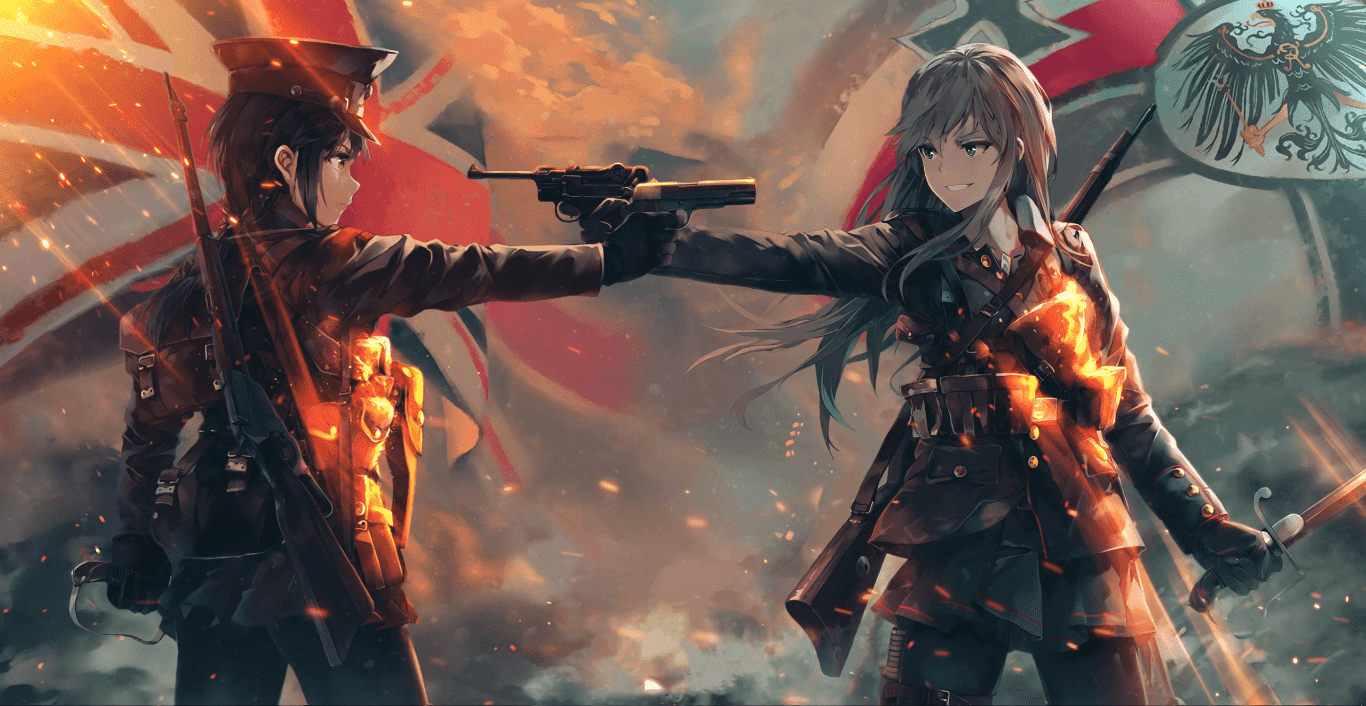 Battlefield 1 -Anime Art 60FPS-1080P [Wallpaper Engine Anime]