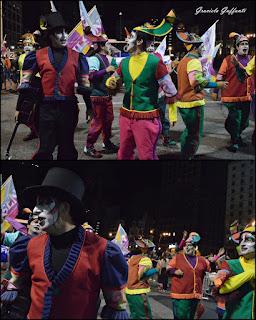 Desfile Inaugural del Carnaval. Uruguay. 2017 La Gran Muñeca