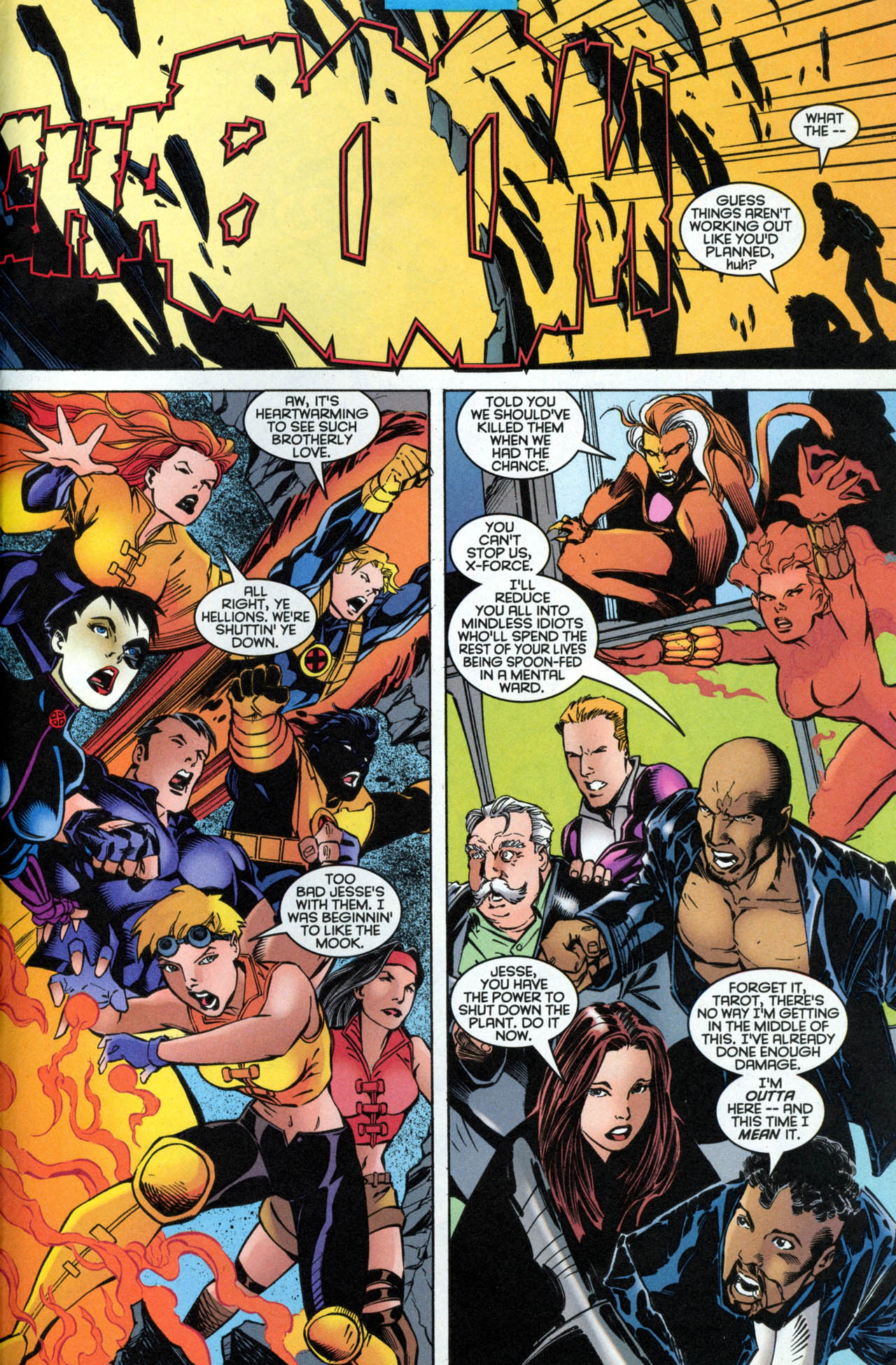Read online X-Force (1991) comic -  Issue #89 - 30