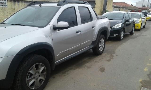 Plantão: Policia recupera veículos roubados em Colombo