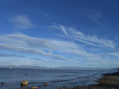 expansive blue sky, spiritual nature, spirituality
