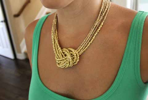 How To Make An Easy Knotted Seed Bead Necklace