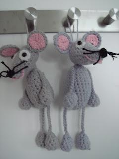 Háčkované myšky