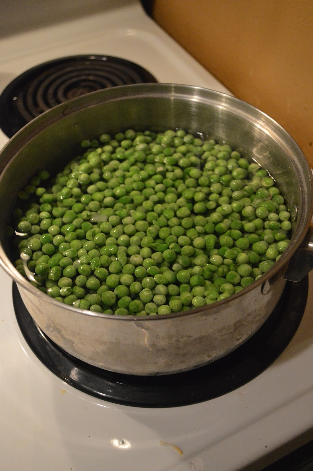 Making Own Baby Food Peas
