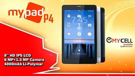 Mycell Mypad P4 Tab