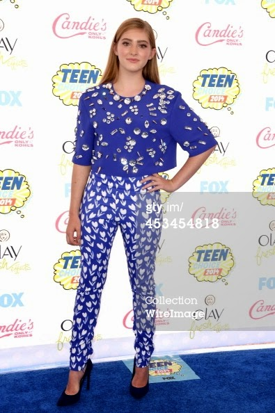 Willow Shields Wearing Emanuel Ungaro Resort 2015 collection