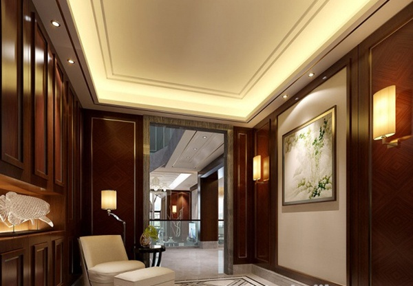 Entrance ceiling 3d model free 3ds max