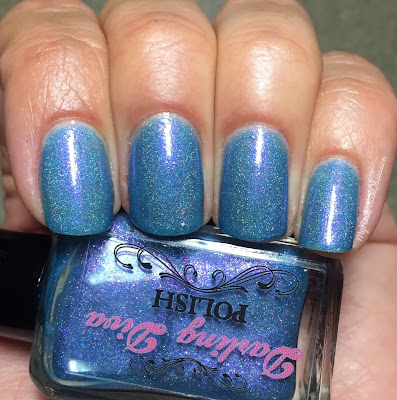 Darling Diva Polish Fan Group Customs; Ink Spill