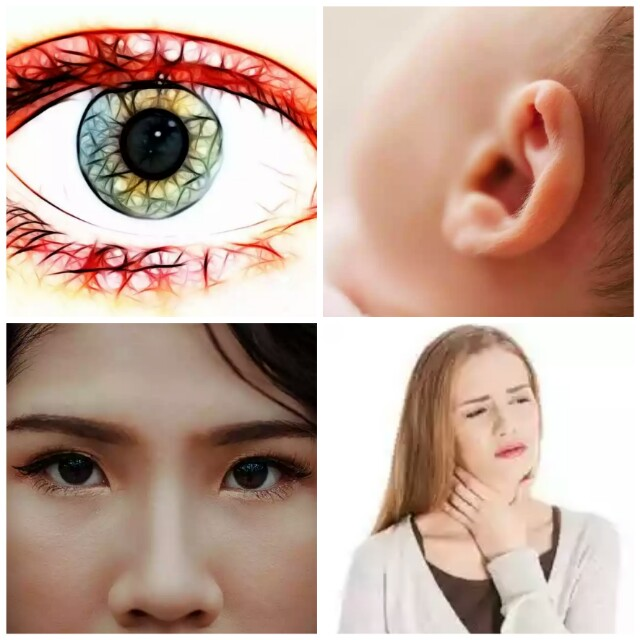 What to do, if an external object enters the eye, ears, nose, throat