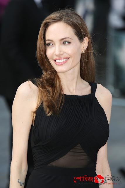 বিচ্ছেদ নিয়ে মুখ খুললেন Angelina Jolie
