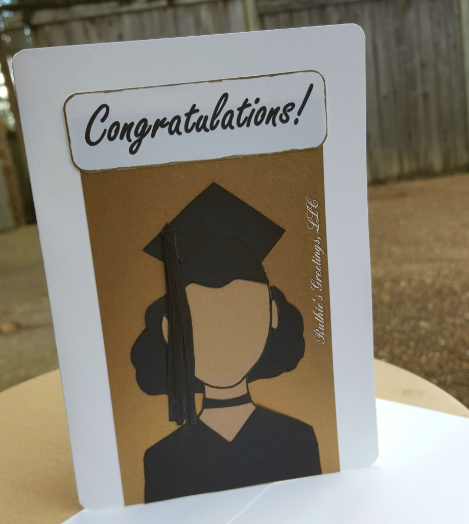 New African American Graduation Cards Handmade