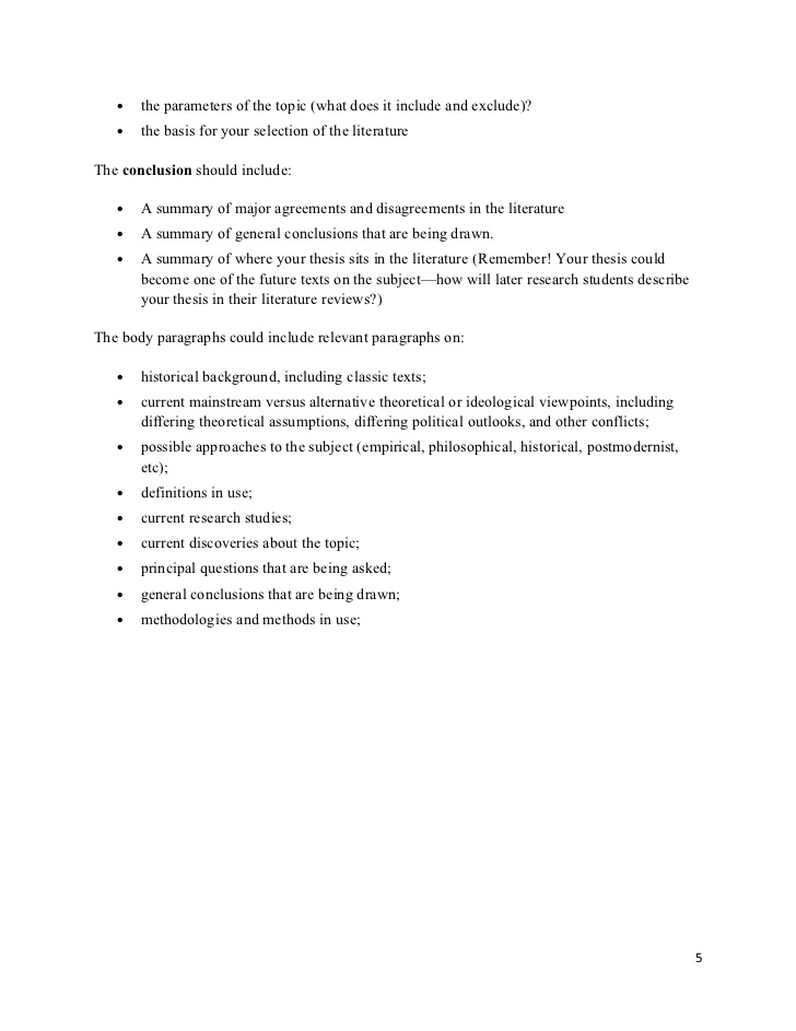 Buy literature review paper section 8