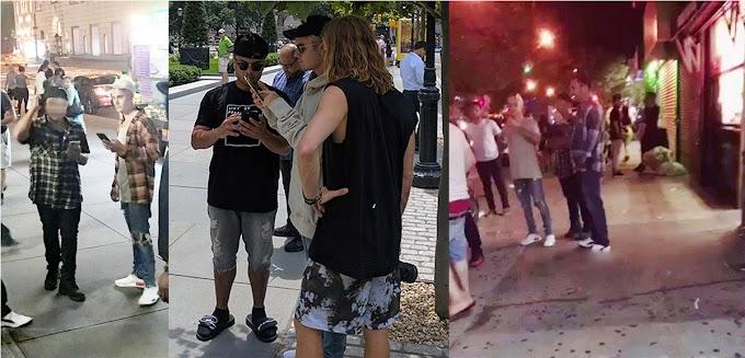 Justin Bieber causa furor en calles  del Alto Manhattan  jugando Pokemon Go