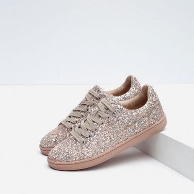 Zara Sparkle Sneakers