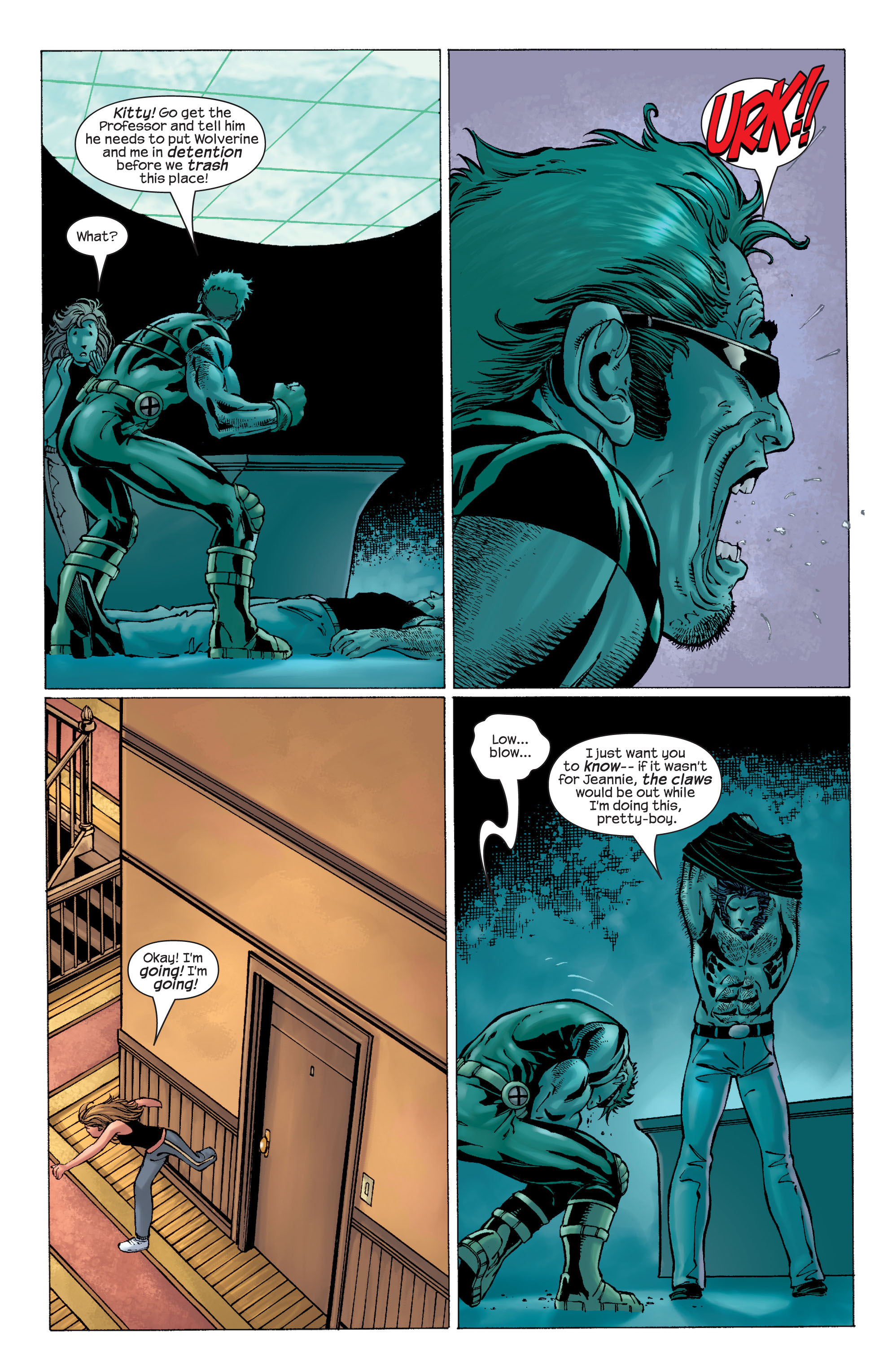 Read online Ultimate X-Men comic -  Issue #22 - 16
