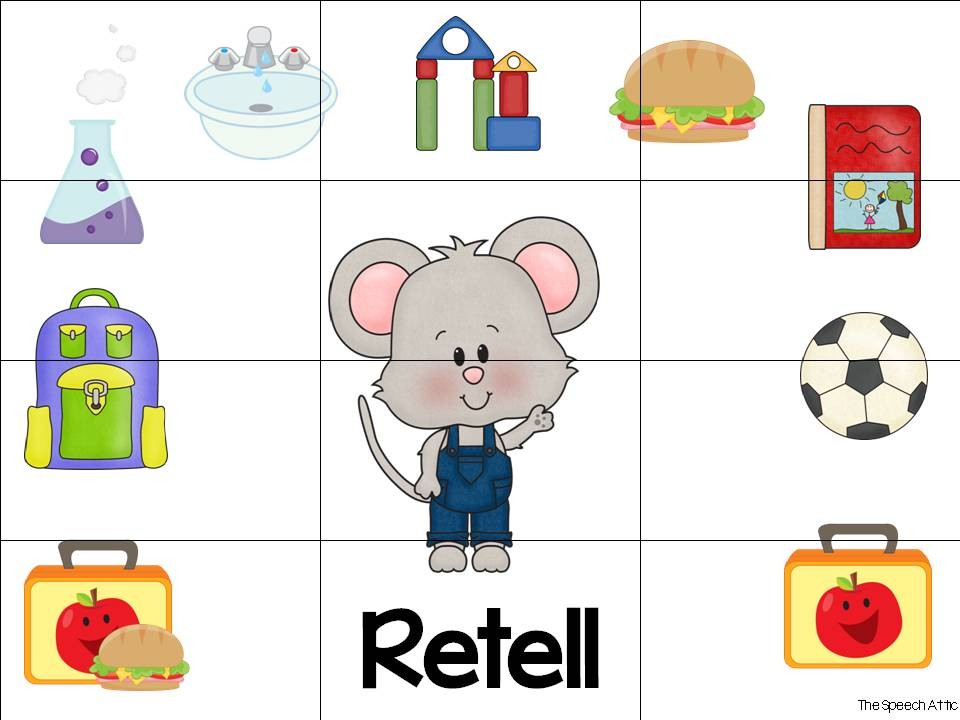 Printables If You Take A Mouse To School Worksheets the speech attic wacky wednesday book club if you take a mouse comprehension questions retelling mat students will answer wh about story once all of have been
